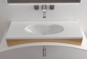 Lavabo-incasso-sottopiano-59,5x39- Key