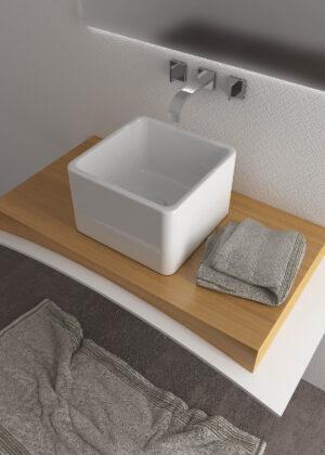 Lavabo quadrato Cubo