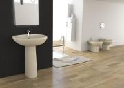 Lavabo 50x40 sanitari online con spedizione gratuita - Lavabo bagno colore champagne ...