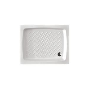 Piatto doccia in ceramica con misure 100x80x11.