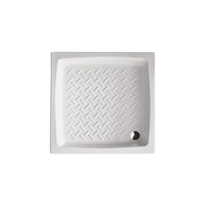 Piatto doccia in ceramica 80x80 h11