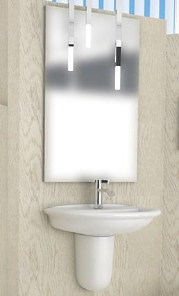 lavabo d 39 arredo 50x40 cm fantaceramiche. Black Bedroom Furniture Sets. Home Design Ideas