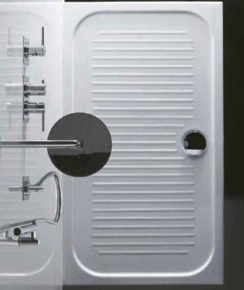 Piatto doccia 110x75x6 Bianco Lucido