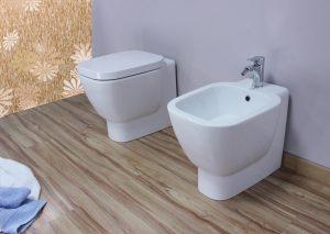 wc e bidet filo muro fantaceramiche
