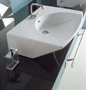 Lavabo da appoggio o da incasso four arredo bagno - Lavabo bagno da incasso ...
