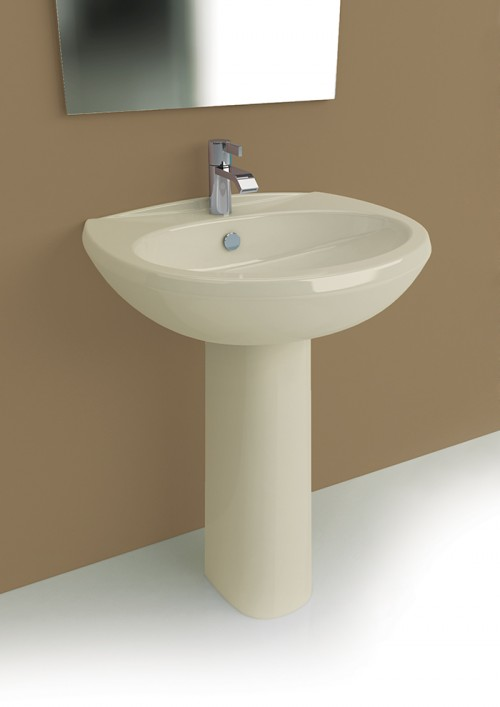 Bagno completo champagne in offerta wc bidet lavabo e - Lavabo con colonna ...
