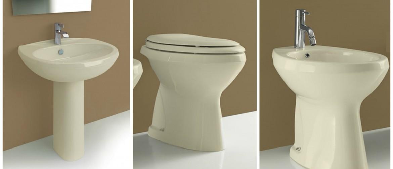 Sanitari color champagne acquista online il tuo nuovo bagno - Sanitari bagno beige ...