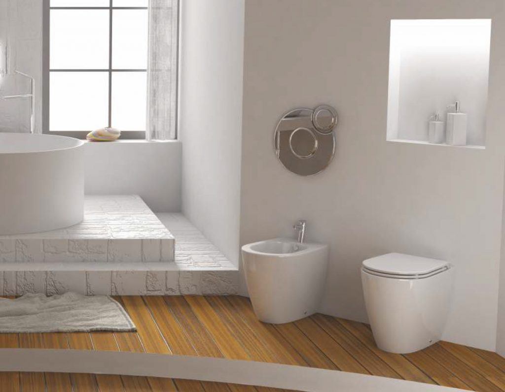 WC con bidet sanitari