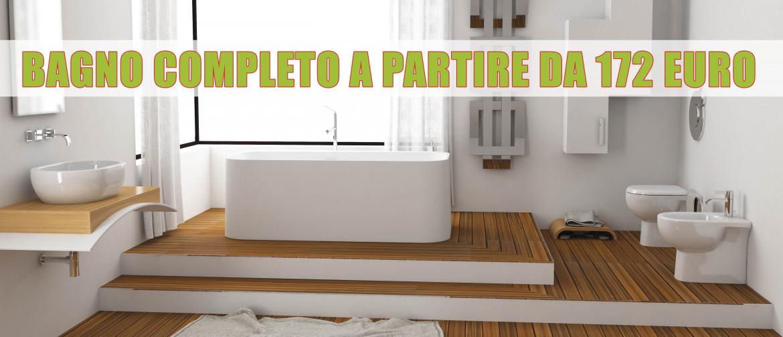 Serie Completa Accessori Bagno.Bagno Completo Economico Promo Sanitari Con Spedizioni Gratuite