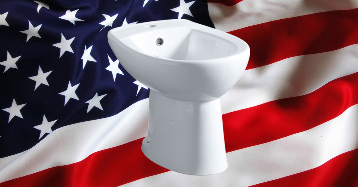 Bidet: vendite record negli Stati Uniti, ma in Italia si diffonde sempre di più il wc con bidet integrato.