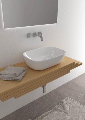 Offerta bagno completo Aida - Sanitari sospesi