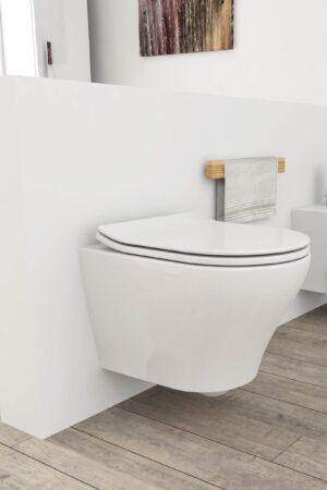 WC sospeso serie Zero di Opera Sanitari