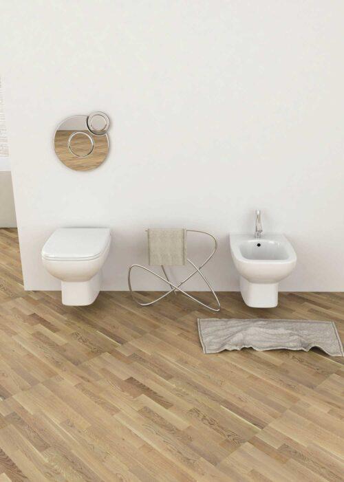 Offerta bagno completo sanitari sospesi