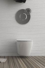 Vaso senza brida in ceramica