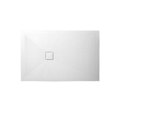 Piatto doccia 110x70 ceramica h3 piletta quadrata