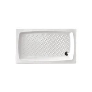 Piatto doccia in ceramica 120x70 h11