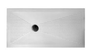 Piatto doccia in ceramica 140x70 h3