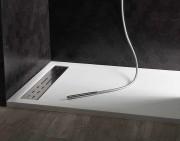 Piatto doccia in marmoresina 170x70 h4 bianco