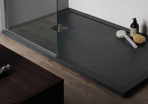 Piatto doccia in marmoresina 100x80x3,3 antracite