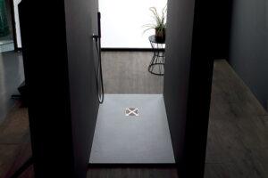 Piatti doccia in marmoresina Altezza 2,5/3 cm Bianchi