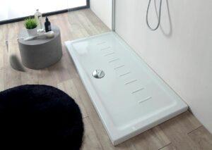 Bianco lucido H 4,5 cm.