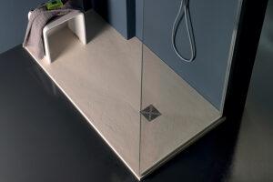 Piatti doccia in marmoresina Altezza 2,5/3 cm Colorati